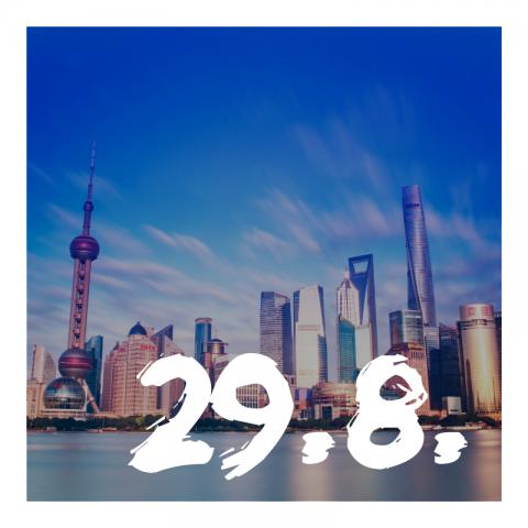 Kasvua Kiinassa