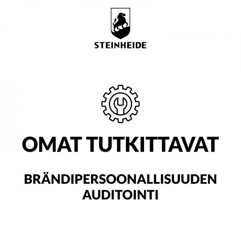 U3 brändipersoonallisuuden auditointi: OMAT TUTKITTAVAT