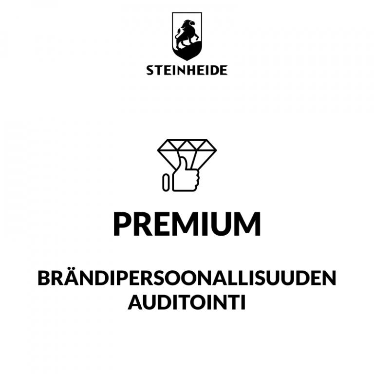 U3 brändipersoonallisuuden auditointi: PREMIUM