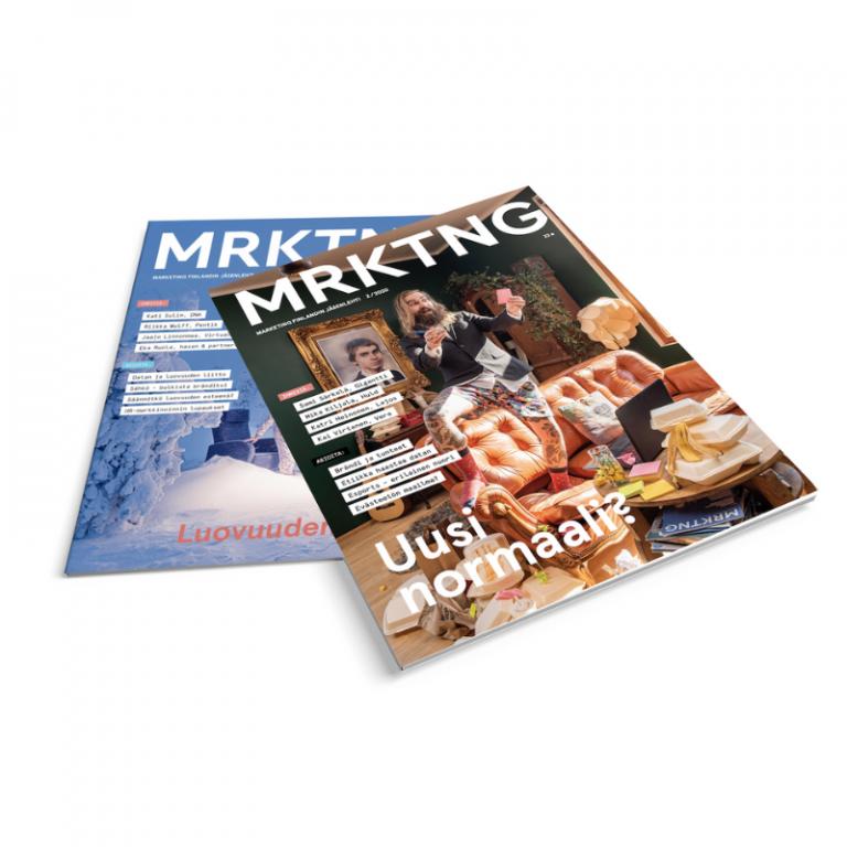 MRKTNG-lehti 3-2020 & 4-2020 Tarjous!